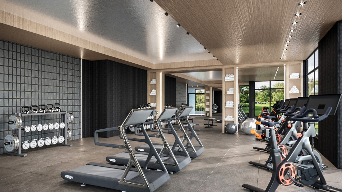 Luxury Apartment Amenities Nyack NY | Pavion Apartments - pavion_gym_2